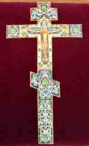 Крест с дарственной надписью