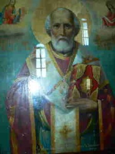 икона Святителя Николая Архиепископа Мир Ликийских, Чудотворца.